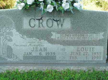 CROW, LOUIE - Boone County, Arkansas | LOUIE CROW - Arkansas Gravestone Photos