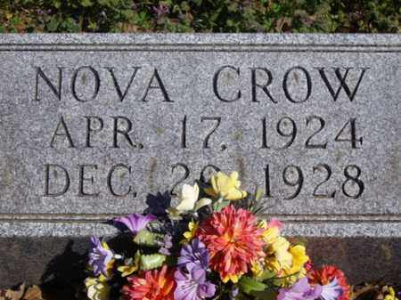 CROW, NOVA - Boone County, Arkansas | NOVA CROW - Arkansas Gravestone Photos
