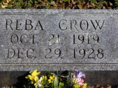 CROW, REBA - Boone County, Arkansas | REBA CROW - Arkansas Gravestone Photos