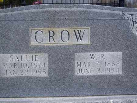 CROW, SALLIE - Boone County, Arkansas | SALLIE CROW - Arkansas Gravestone Photos
