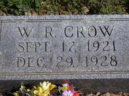 CROW, W. R. - Boone County, Arkansas | W. R. CROW - Arkansas Gravestone Photos