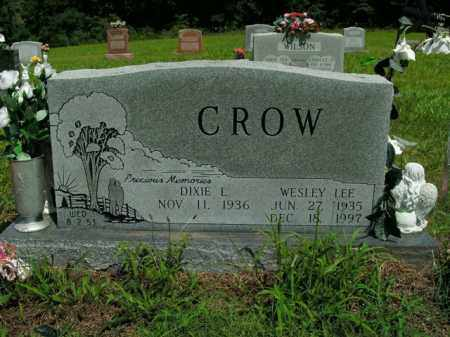CROW, WESLEY LEE - Boone County, Arkansas | WESLEY LEE CROW - Arkansas Gravestone Photos