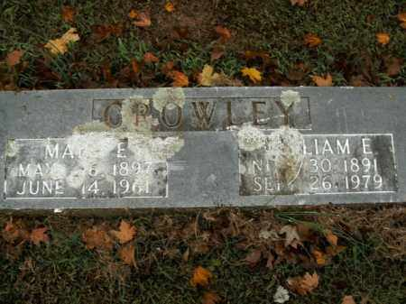 CROWLEY, WILLIAM E. - Boone County, Arkansas | WILLIAM E. CROWLEY - Arkansas Gravestone Photos