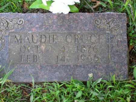 CRUCE, MAUDIE - Boone County, Arkansas | MAUDIE CRUCE - Arkansas Gravestone Photos