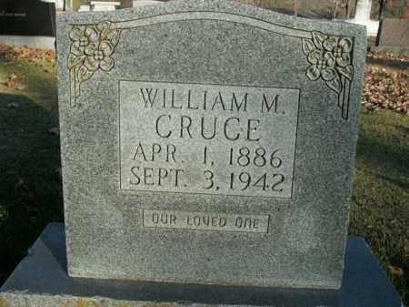 CRUCE, WILLIAM M. - Boone County, Arkansas | WILLIAM M. CRUCE - Arkansas Gravestone Photos