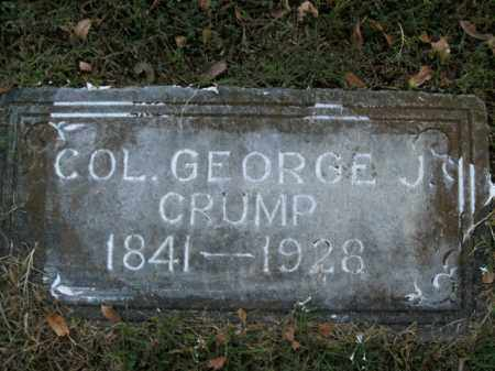 CRUMP  (VETERAN 2 WARS), GEORGE J - Boone County, Arkansas | GEORGE J CRUMP  (VETERAN 2 WARS) - Arkansas Gravestone Photos