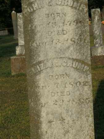 CRUMP, JOHN C. - Boone County, Arkansas | JOHN C. CRUMP - Arkansas Gravestone Photos