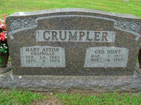 CRUMPLER, MARY AFTON - Boone County, Arkansas | MARY AFTON CRUMPLER - Arkansas Gravestone Photos