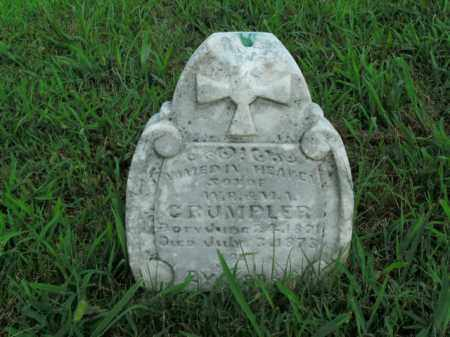 CRUMPLER, NAMED IN HEAVEN - Boone County, Arkansas | NAMED IN HEAVEN CRUMPLER - Arkansas Gravestone Photos