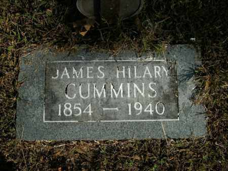 CUMMINS, JAMES HILARY - Boone County, Arkansas | JAMES HILARY CUMMINS - Arkansas Gravestone Photos