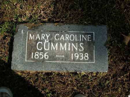 CUMMINS, MARY CAROLINE - Boone County, Arkansas | MARY CAROLINE CUMMINS - Arkansas Gravestone Photos