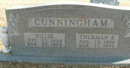 CUNNINGHAM, THURMAN S. - Boone County, Arkansas | THURMAN S. CUNNINGHAM - Arkansas Gravestone Photos