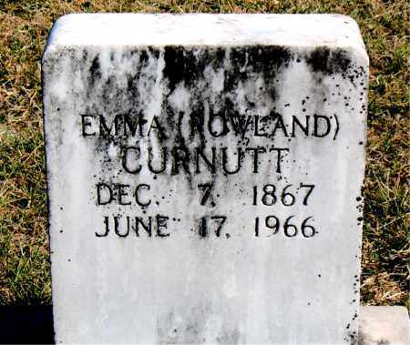 CURNUTT, EMMA - Boone County, Arkansas | EMMA CURNUTT - Arkansas Gravestone Photos