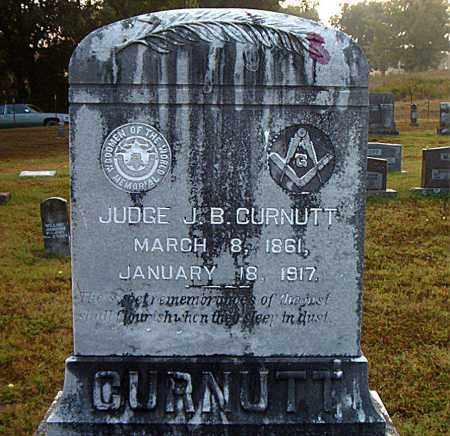 CURNUTT, J.B. (JUDGE) - Boone County, Arkansas | J.B. (JUDGE) CURNUTT - Arkansas Gravestone Photos
