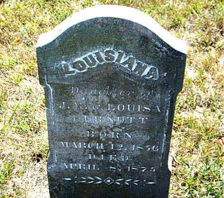 CURNUTT, LOUISIANA - Boone County, Arkansas | LOUISIANA CURNUTT - Arkansas Gravestone Photos