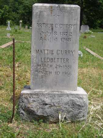 CURRY, ARTHUR C. - Boone County, Arkansas | ARTHUR C. CURRY - Arkansas Gravestone Photos