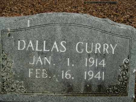CURRY, DALLAS - Boone County, Arkansas | DALLAS CURRY - Arkansas Gravestone Photos