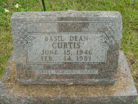 CURTIS, BASIL DEAN - Boone County, Arkansas | BASIL DEAN CURTIS - Arkansas Gravestone Photos