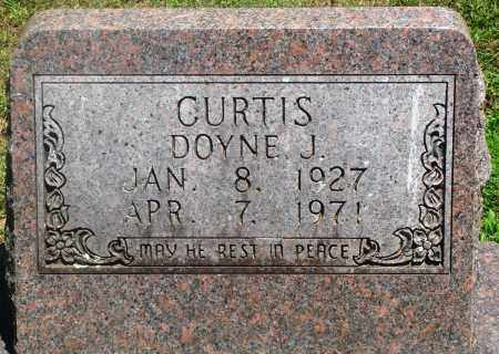 CURTIS, DOYNE J - Boone County, Arkansas | DOYNE J CURTIS - Arkansas Gravestone Photos