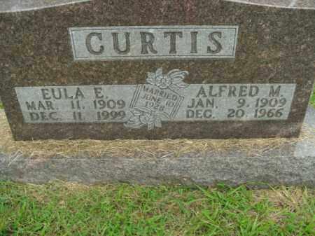 CURTIS, EULA EUGENIA - Boone County, Arkansas | EULA EUGENIA CURTIS - Arkansas Gravestone Photos