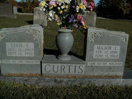 CURTIS, MAJOR L. - Boone County, Arkansas | MAJOR L. CURTIS - Arkansas Gravestone Photos