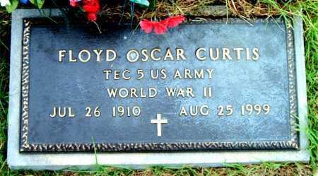 CURTIS  (VETERAN WWII), FLOYD  OSCAR - Boone County, Arkansas | FLOYD  OSCAR CURTIS  (VETERAN WWII) - Arkansas Gravestone Photos
