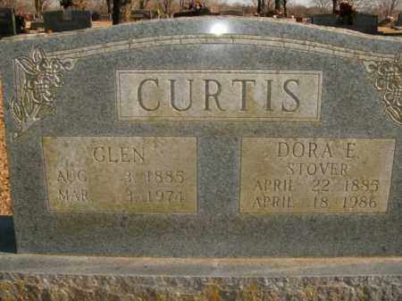 ERVIN CURTIS, DORA E. - Boone County, Arkansas | DORA E. ERVIN CURTIS - Arkansas Gravestone Photos