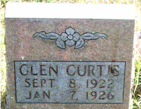 CURTIS, GLEN - Boone County, Arkansas | GLEN CURTIS - Arkansas Gravestone Photos