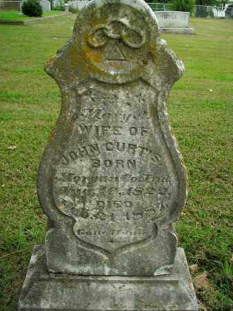 CURTIS, MARY - Boone County, Arkansas | MARY CURTIS - Arkansas Gravestone Photos