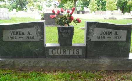 CURTIS, JOHN HENRY - Boone County, Arkansas | JOHN HENRY CURTIS - Arkansas Gravestone Photos