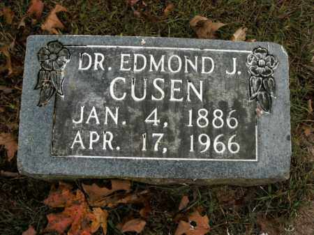 CUSEN, EDMOND J. - Boone County, Arkansas | EDMOND J. CUSEN - Arkansas Gravestone Photos