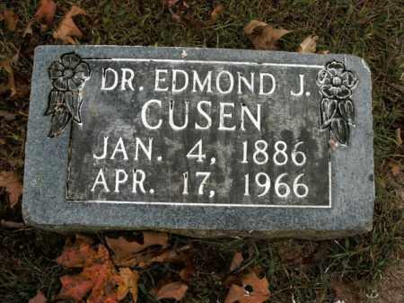 CUSEN, EDMOND J, DR - Boone County, Arkansas | EDMOND J, DR CUSEN - Arkansas Gravestone Photos