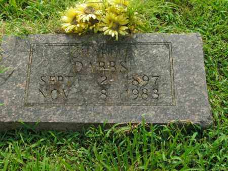 DABBS, CHARLIE - Boone County, Arkansas | CHARLIE DABBS - Arkansas Gravestone Photos