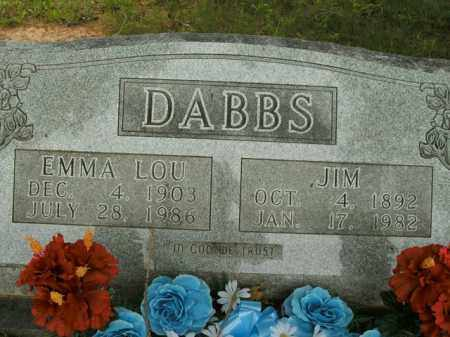 DABBS, EMMA LOU - Boone County, Arkansas | EMMA LOU DABBS - Arkansas Gravestone Photos