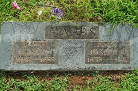 DABBS, NANCY S. - Boone County, Arkansas | NANCY S. DABBS - Arkansas Gravestone Photos