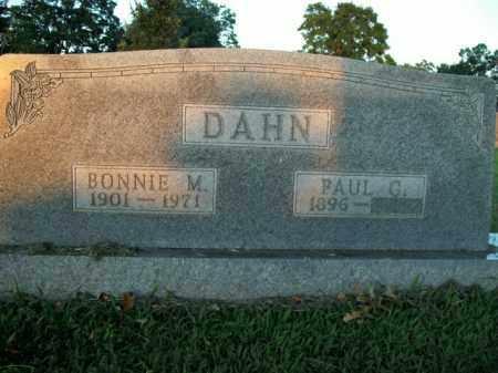 DAHN, PAUL CARL - Boone County, Arkansas | PAUL CARL DAHN - Arkansas Gravestone Photos