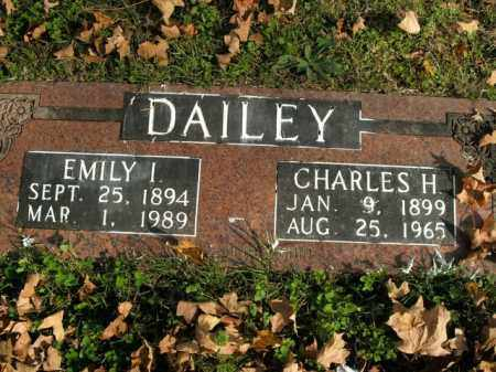DAILEY, CHARLES H. - Boone County, Arkansas | CHARLES H. DAILEY - Arkansas Gravestone Photos
