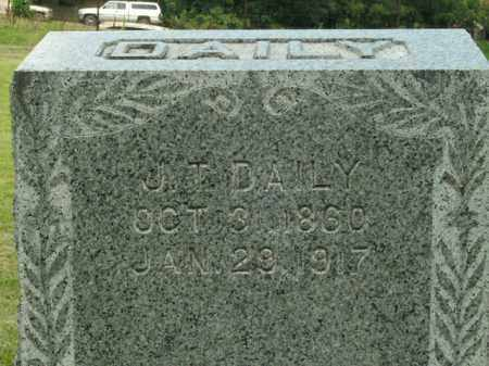 DAILY, J.T. - Boone County, Arkansas | J.T. DAILY - Arkansas Gravestone Photos