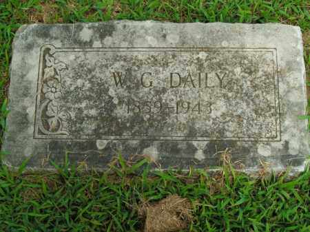 DAILY, W.G. - Boone County, Arkansas | W.G. DAILY - Arkansas Gravestone Photos
