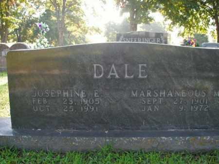 DALE, MARSHANEOUS M. - Boone County, Arkansas | MARSHANEOUS M. DALE - Arkansas Gravestone Photos