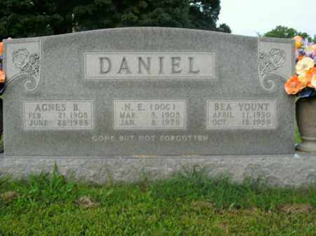 YOUNT DANIEL, BEA - Boone County, Arkansas | BEA YOUNT DANIEL - Arkansas Gravestone Photos