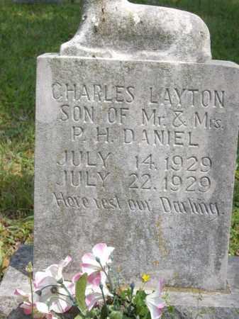 DANIEL, CHARLES LAYTON - Boone County, Arkansas | CHARLES LAYTON DANIEL - Arkansas Gravestone Photos