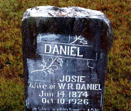 DANIEL, JOSIE - Boone County, Arkansas | JOSIE DANIEL - Arkansas Gravestone Photos