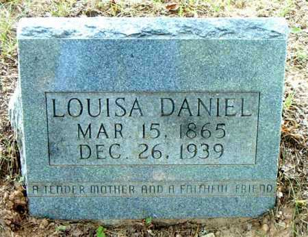 DANIEL, LOUISA - Boone County, Arkansas | LOUISA DANIEL - Arkansas Gravestone Photos