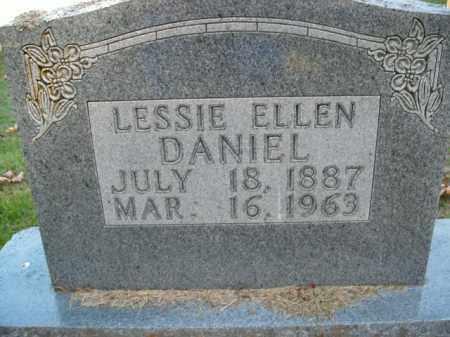 DANIEL, LESSIE ELLEN - Boone County, Arkansas | LESSIE ELLEN DANIEL - Arkansas Gravestone Photos