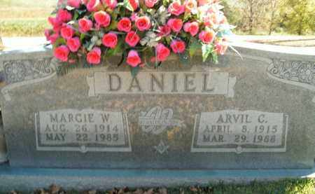 DANIEL, ARVIL C. - Boone County, Arkansas | ARVIL C. DANIEL - Arkansas Gravestone Photos