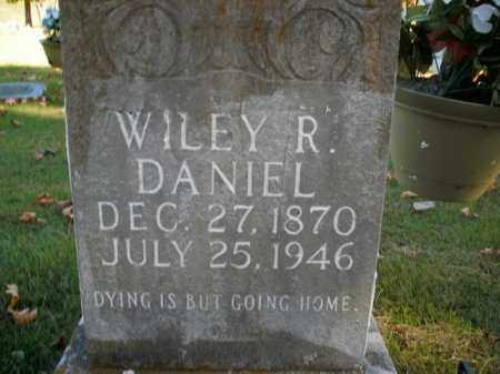 DANIEL, WILEY R. - Boone County, Arkansas | WILEY R. DANIEL - Arkansas Gravestone Photos