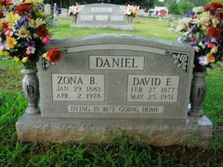 DANIEL, ZONA B. - Boone County, Arkansas | ZONA B. DANIEL - Arkansas Gravestone Photos