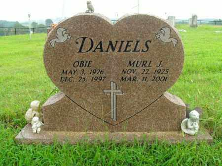 DANIELS, OBIE - Boone County, Arkansas | OBIE DANIELS - Arkansas Gravestone Photos