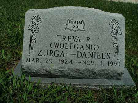 WOLFGANG DANIELS, TREVA R. ZURGA - Boone County, Arkansas | TREVA R. ZURGA WOLFGANG DANIELS - Arkansas Gravestone Photos
